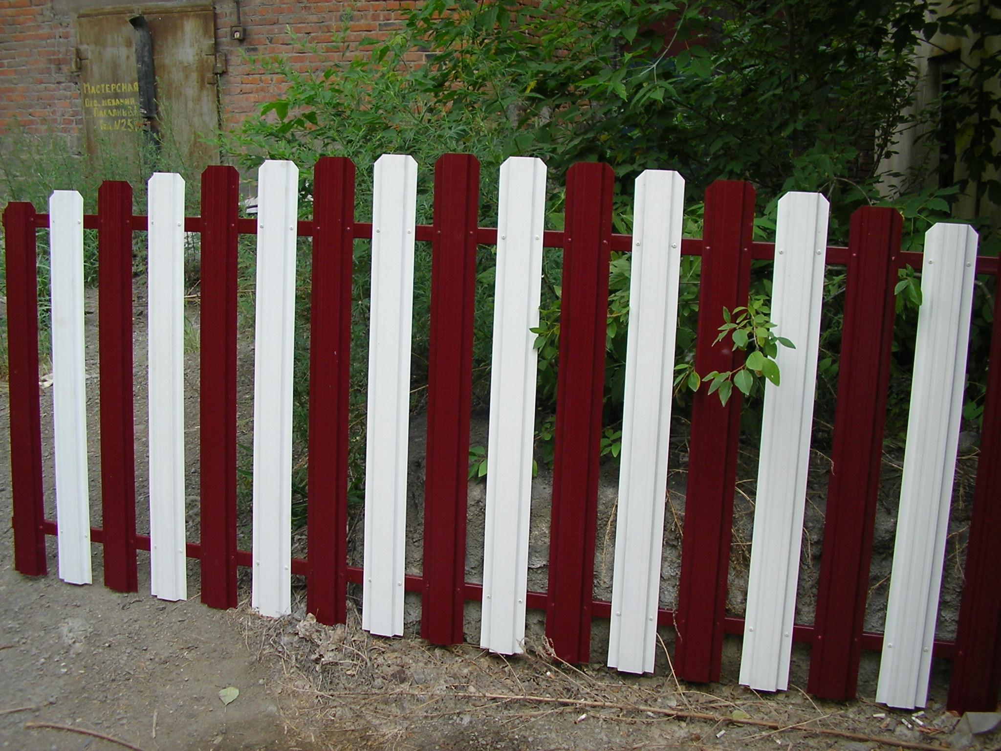 Штакетник металлический челябинск комплект для откатных ворот в люберцах